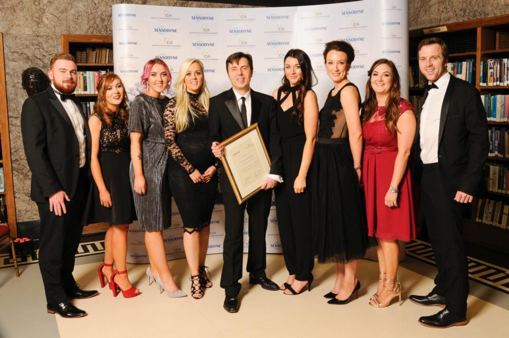 Swords Orthodontics at 2016 Sensodyne-IDA Sensitive Dentistry Awards