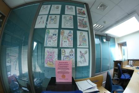 Kids Corner at Swords Orthodontics and the 2013 Colouring Competition