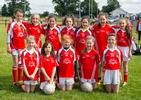 Fingallians U10 Girls in their Swords Orho jerseys