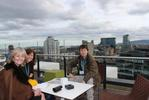 Dr Stephen Murray on the roof after OSI conference 2014