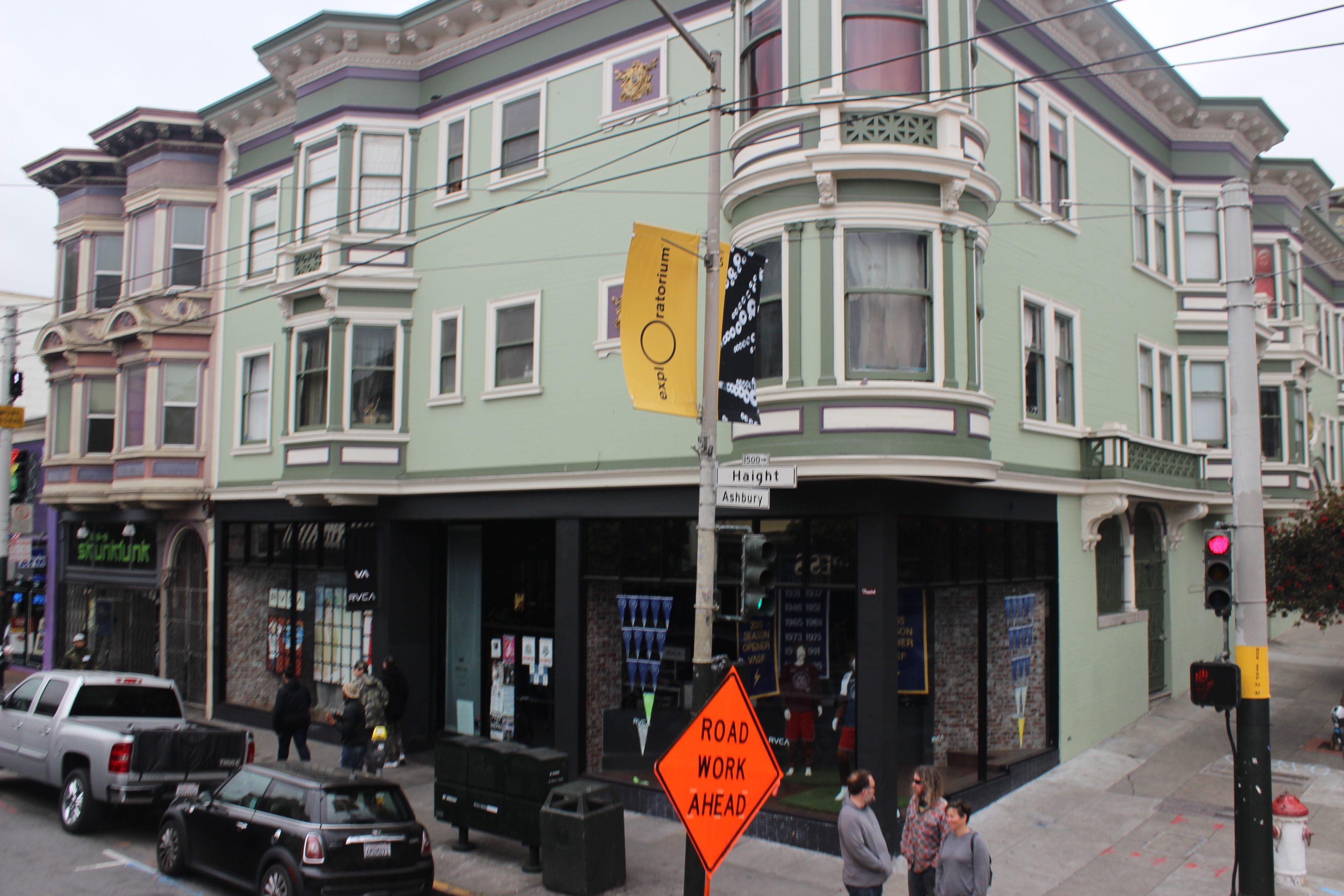 Haight Ashbury, spiritual homeland of hippies in San Francisco