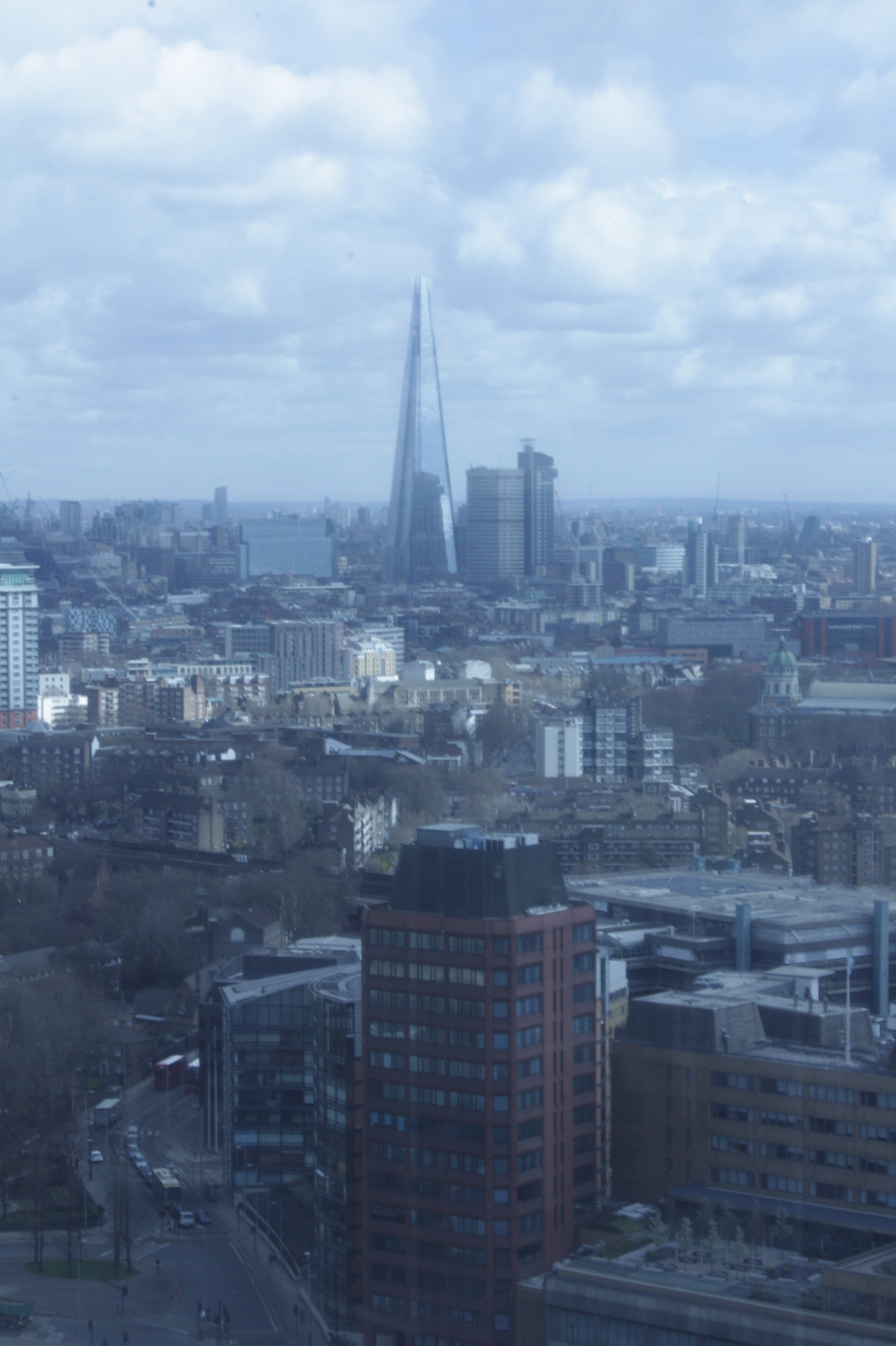 The Shard, as seen from an Invisalign conference