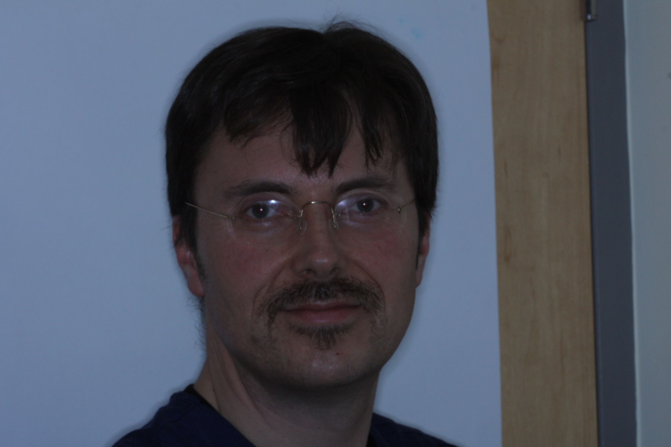 Dr Stephen Murray at Swords Orthodontics on Day 14 of his Movember challenge