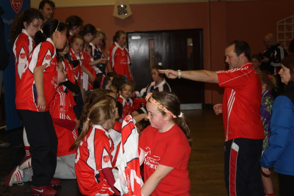 Liam O'Culbaird directs his team - on and off the pitch at Fingallians GAA
