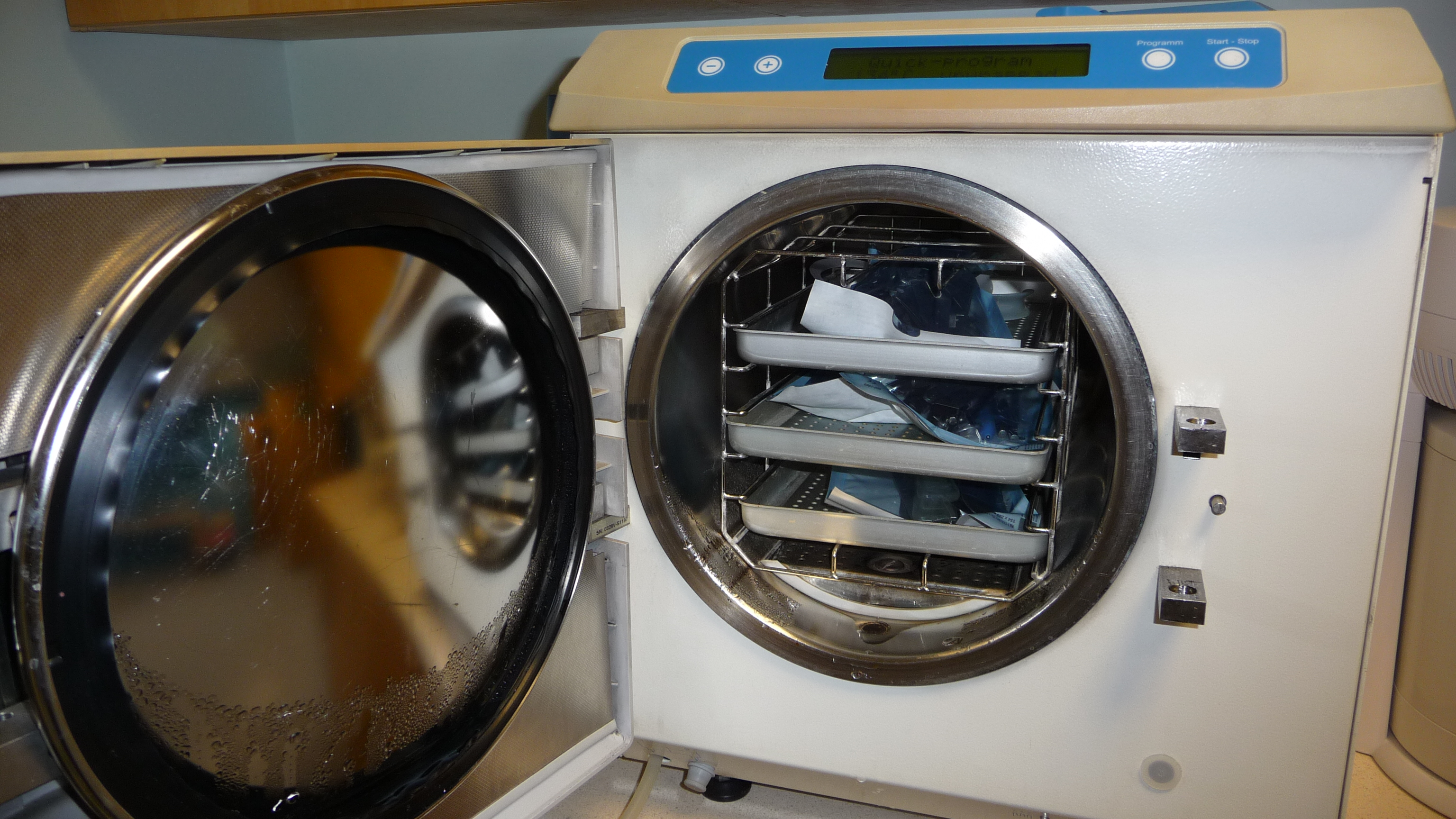 An autoclave kills off the germs at Swords Orthodontics
