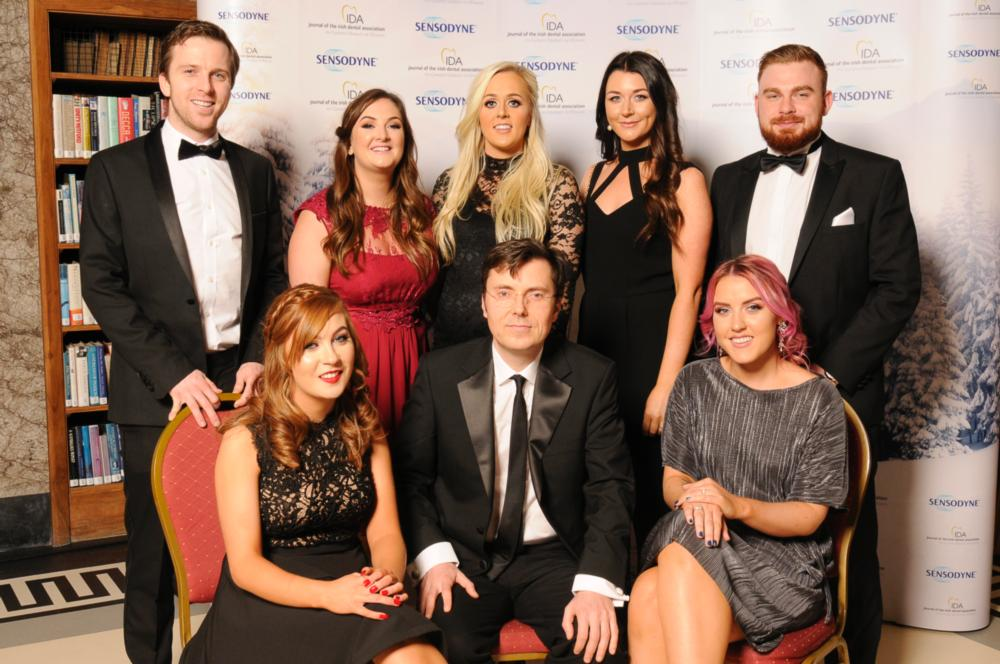 Swords Orthodontics 2016 Finalists at Sensodyne IDA Irish Sensitive Dentist Awards