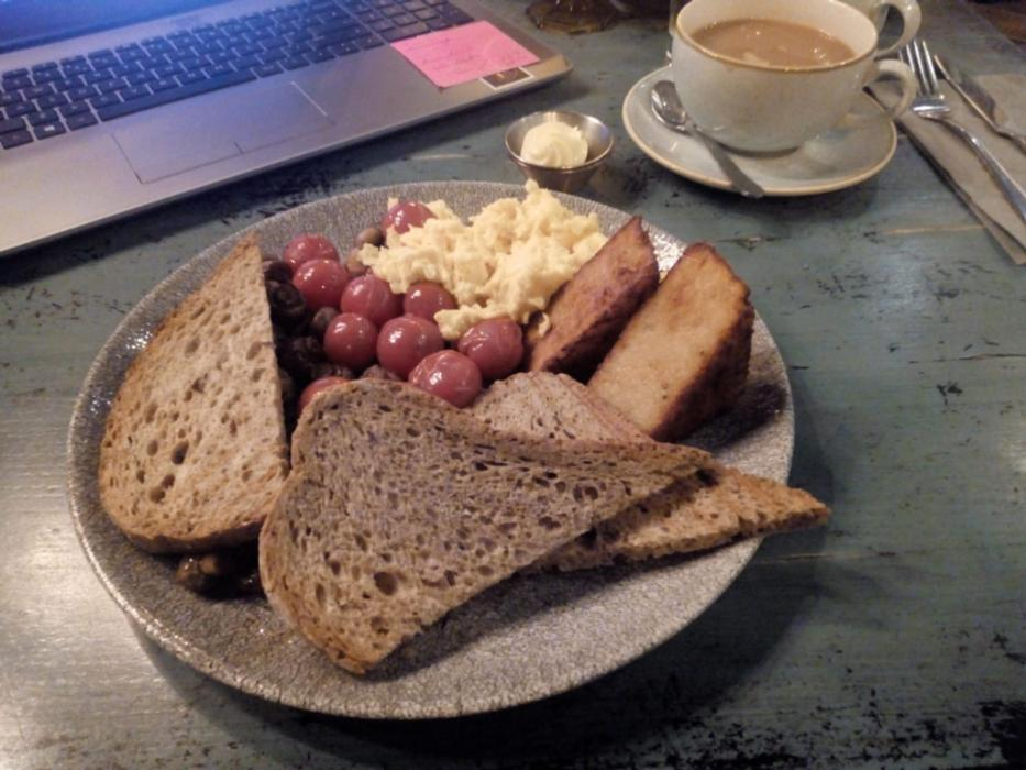 woodlander breakfast at Gourmet Food Parlour
