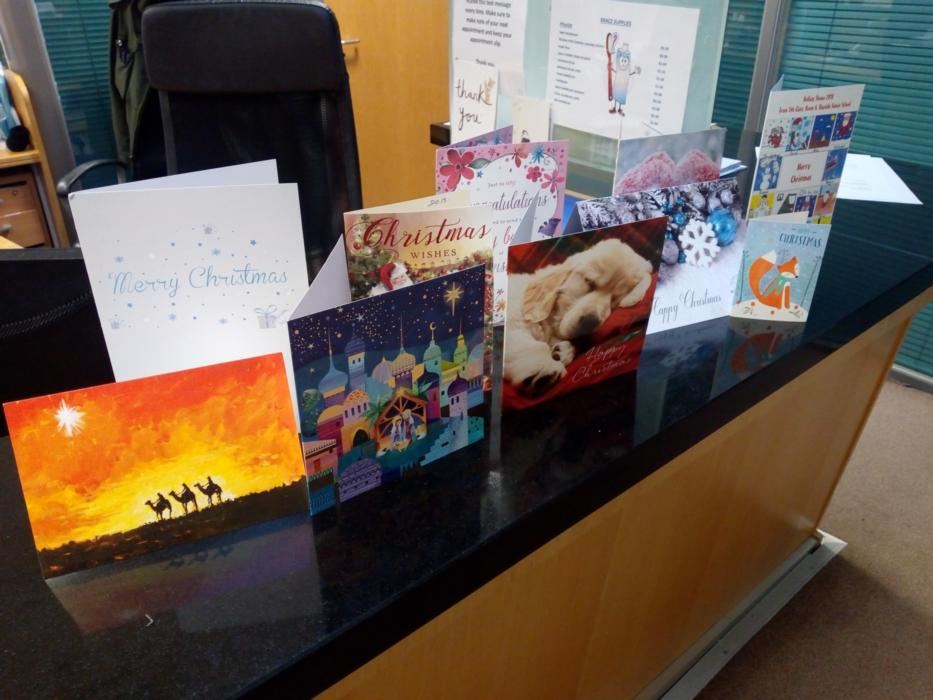 Christmas cards at Swords Orthodontics