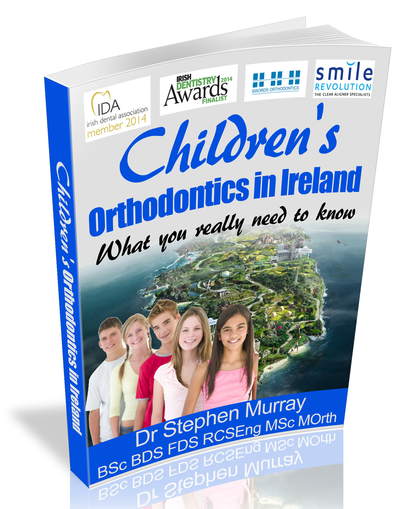 Dr Murray's eBook Children's Orthodontics in Ireland is available free from this link