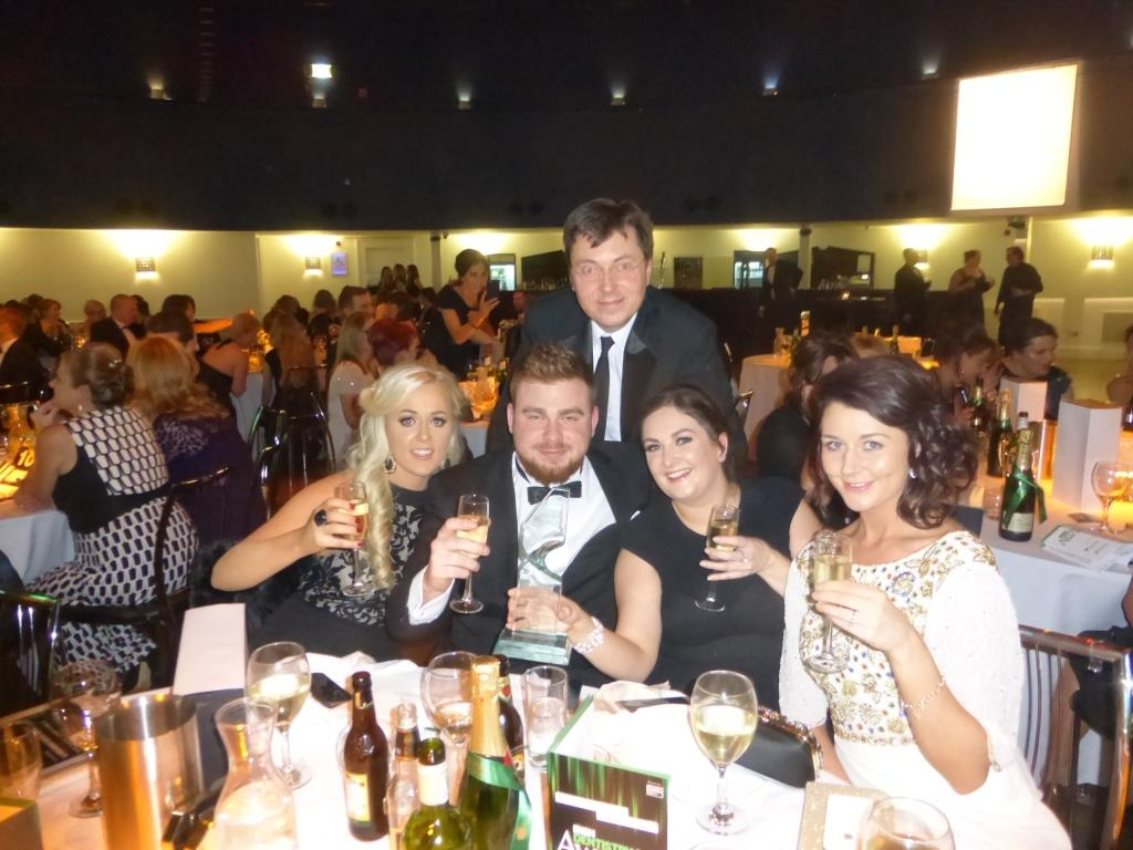 Cheers! Team Swords Ortho at the Irish Dentistry Awards where the practice was declared Irish Dentistry's Practice of the Year in Dublin
