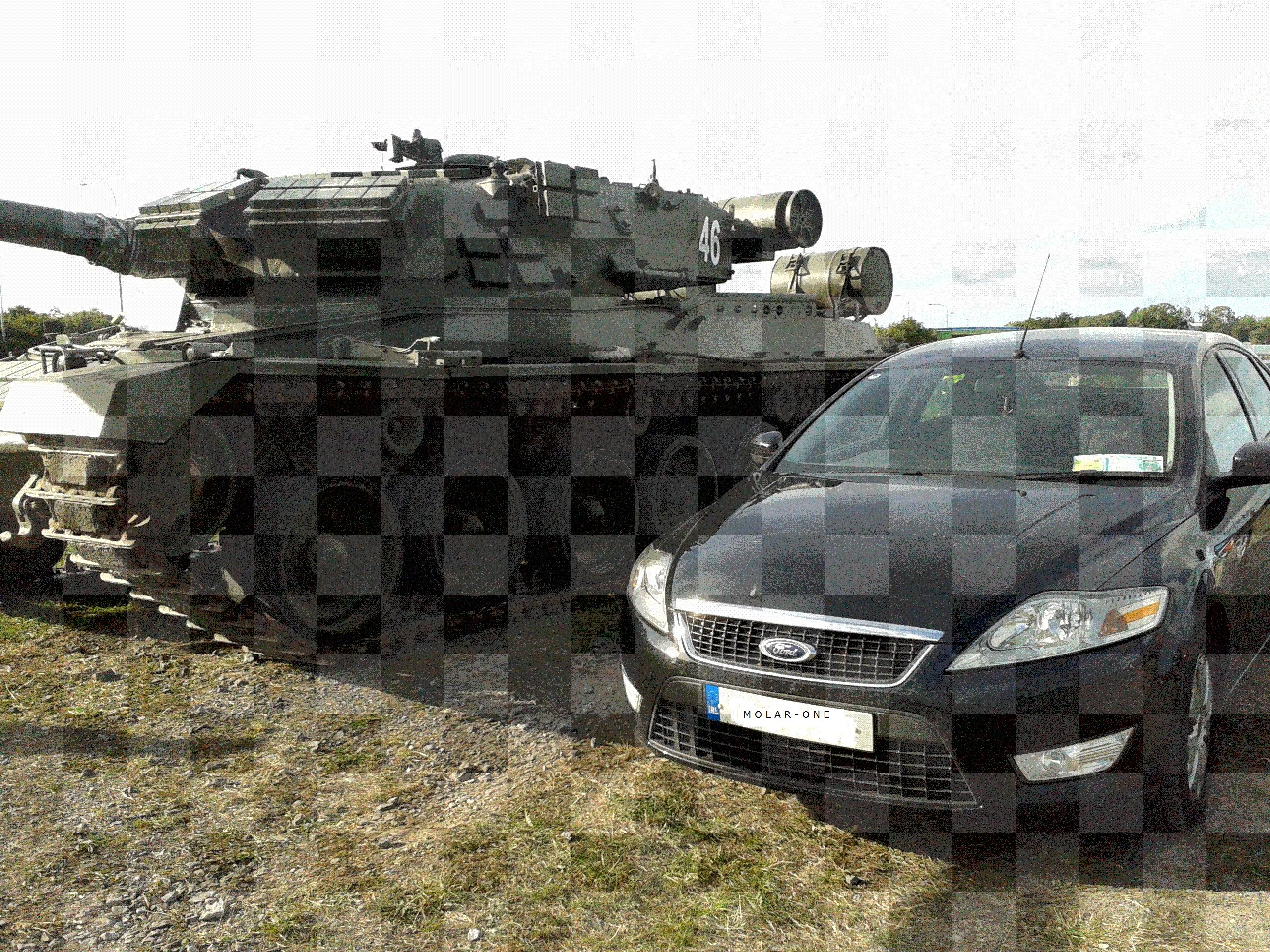 MBT v Mondeo, which will win?