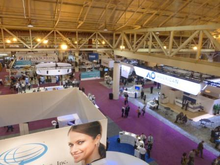 Probably the biggest orthodontic trade show on earth, and Swords Orthodontics was in the middle of it