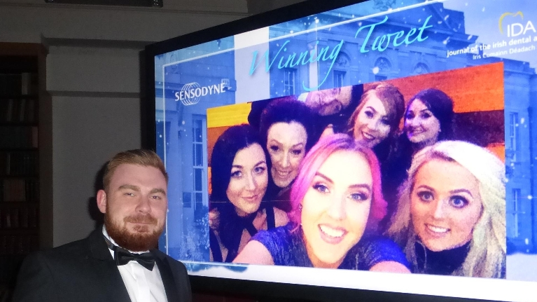 Swords Orthodontics wins tweet of the night at Sensodyne Senstive Dentist Awards