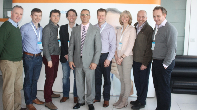 Irish specialist orthodontist group at Invisalign user meeting